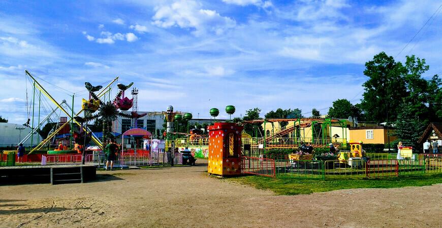 Парк им. Бабушкина в Санкт-Петербурге