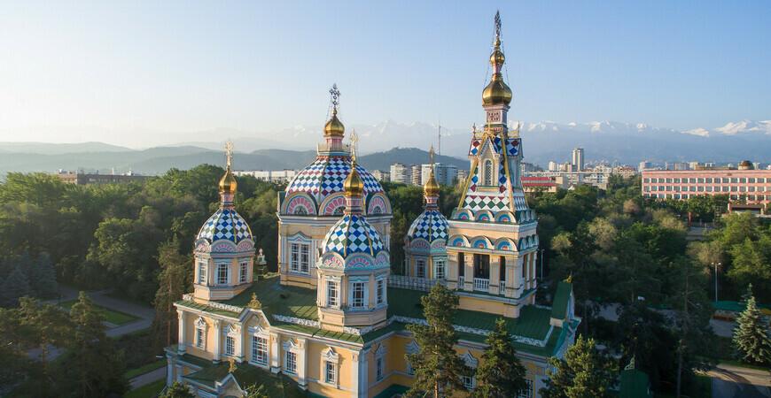 Вознесенский Кафедральный собор в Алматы