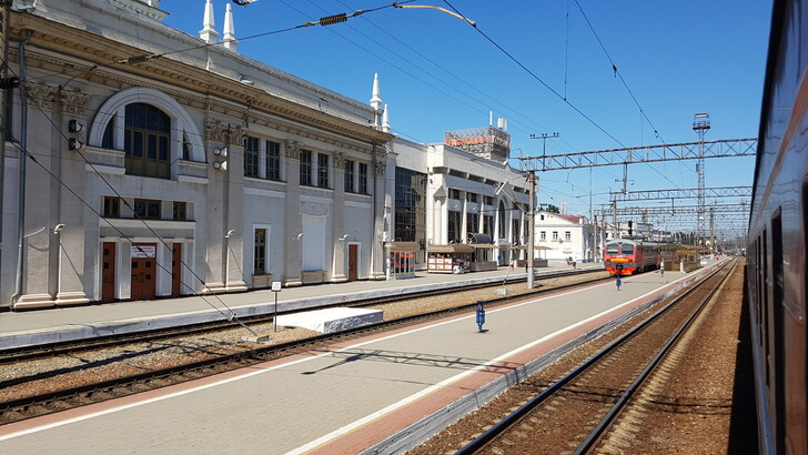 Вокзал в Краснодаре