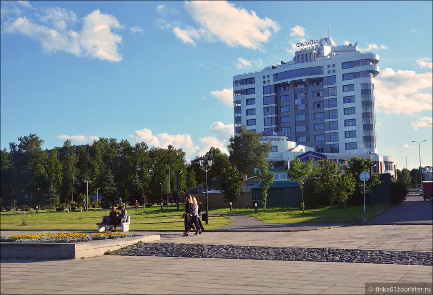 Онего Палас - лучший отель Петрозаводска. Прямо на набережной.