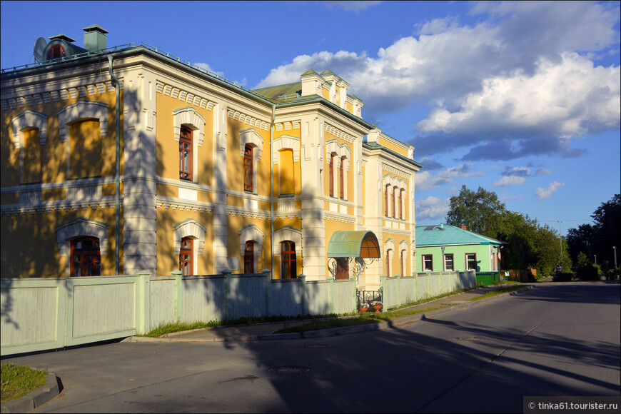 Квартал исторической застройки Петрозаводска.