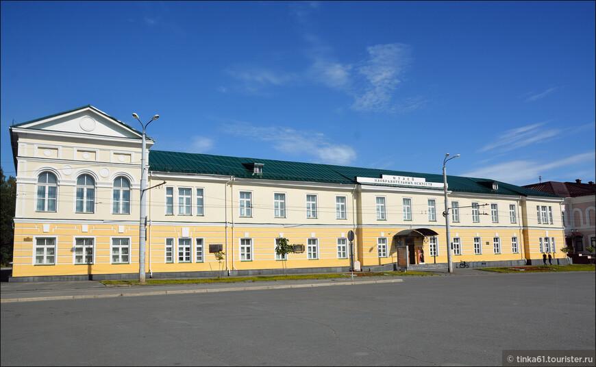 Заглянули мы и в Музей Изобразительных искусств Петрозаводска.