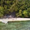 Пляж на острове Кри.