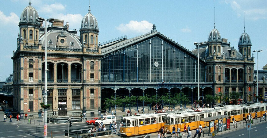 Ж/д вокзал Ньюгати в Будапеште