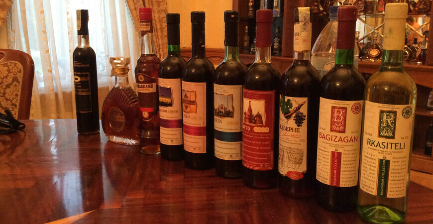 Музей вина Филатова при заводе Ховренко в Самарканде