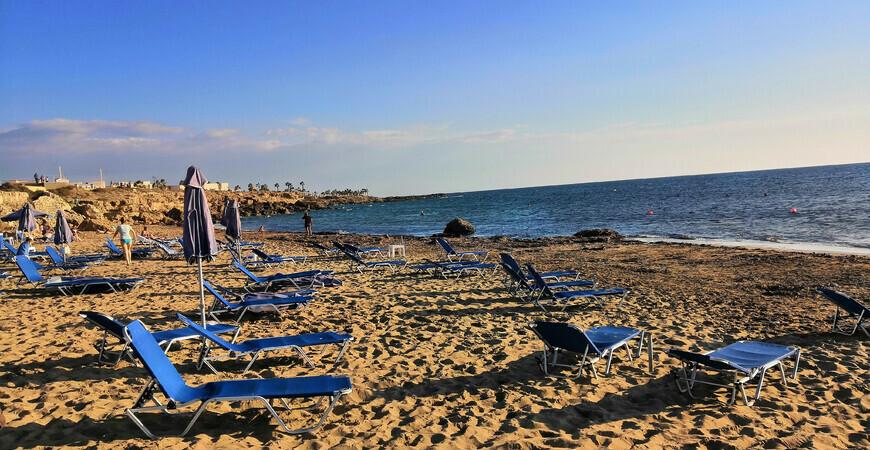 SODAP Beach в Пафосе, Кипр