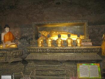 В храме Таиланда туристку укусила змея