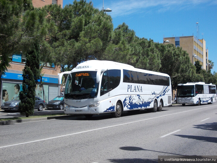 Как добраться из Барселоны до Салоу