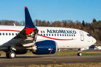 Aeroméxico приостановила полёты на самолётах Boeing 737 MAX