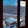 Вид с гостиницы в Местии