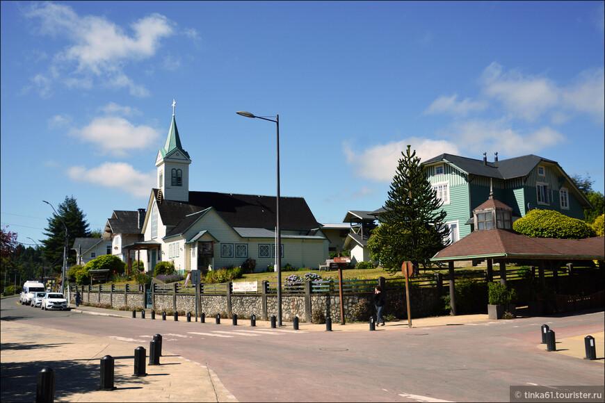 .Лютеранская церковь.