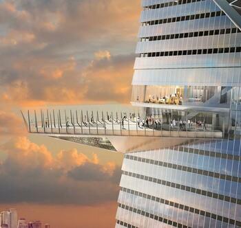 В Нью-Йорке откроют самую высокую смотровую площадку в западном полушарии