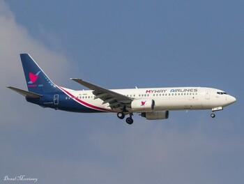 В Жуковский придёт грузинская авиакомпания MyWay