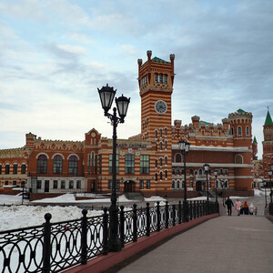 Йошкар-Ола - город красный и интересный