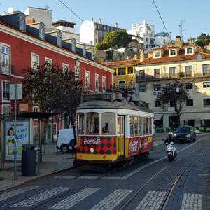 Лиссабон в январе