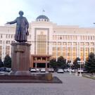 Памятник Джамбулу Джабаеву