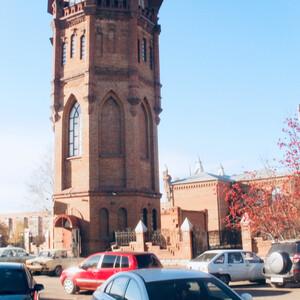 Уездный город в Поволжье