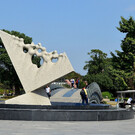 Шанхайский парк скульптур Юэху
