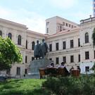 Памятник Акакию Церетели и Илье Чавчавадзе