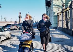 Весна в Петропавловской крепости