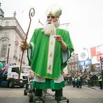 День Святого Патрика в Лондоне