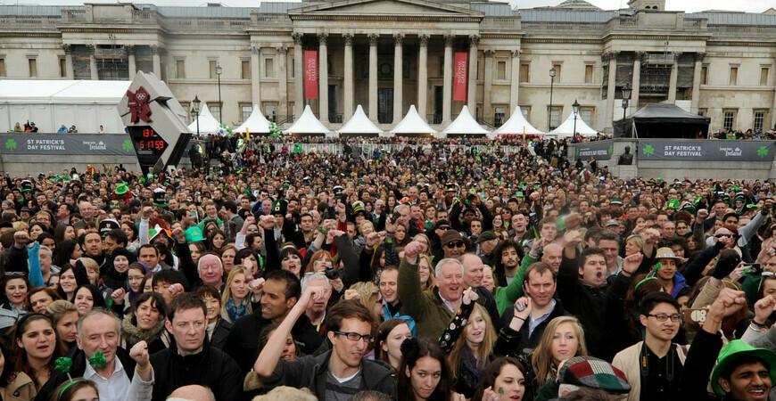 День Святого Патрика в Лондоне (St. Patrick's Day in London)