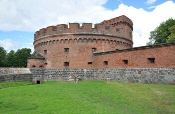 Башня Дона, внутренняя территория