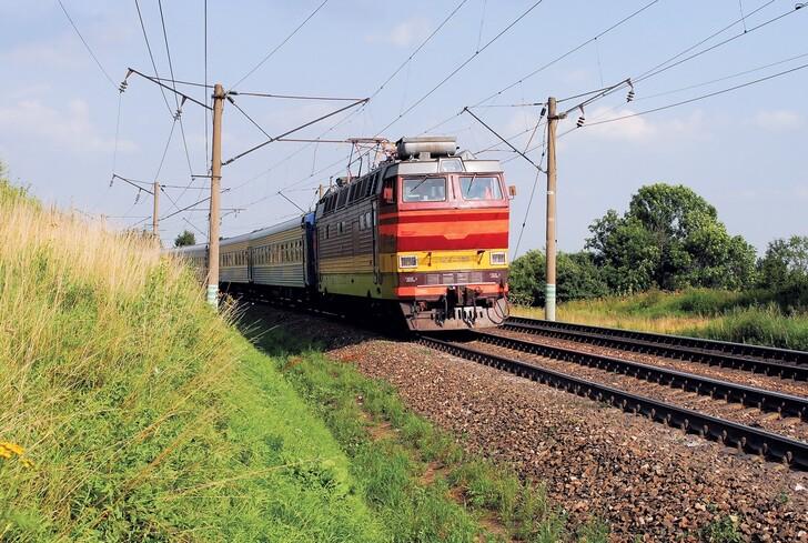 Поезд «Янтарь»