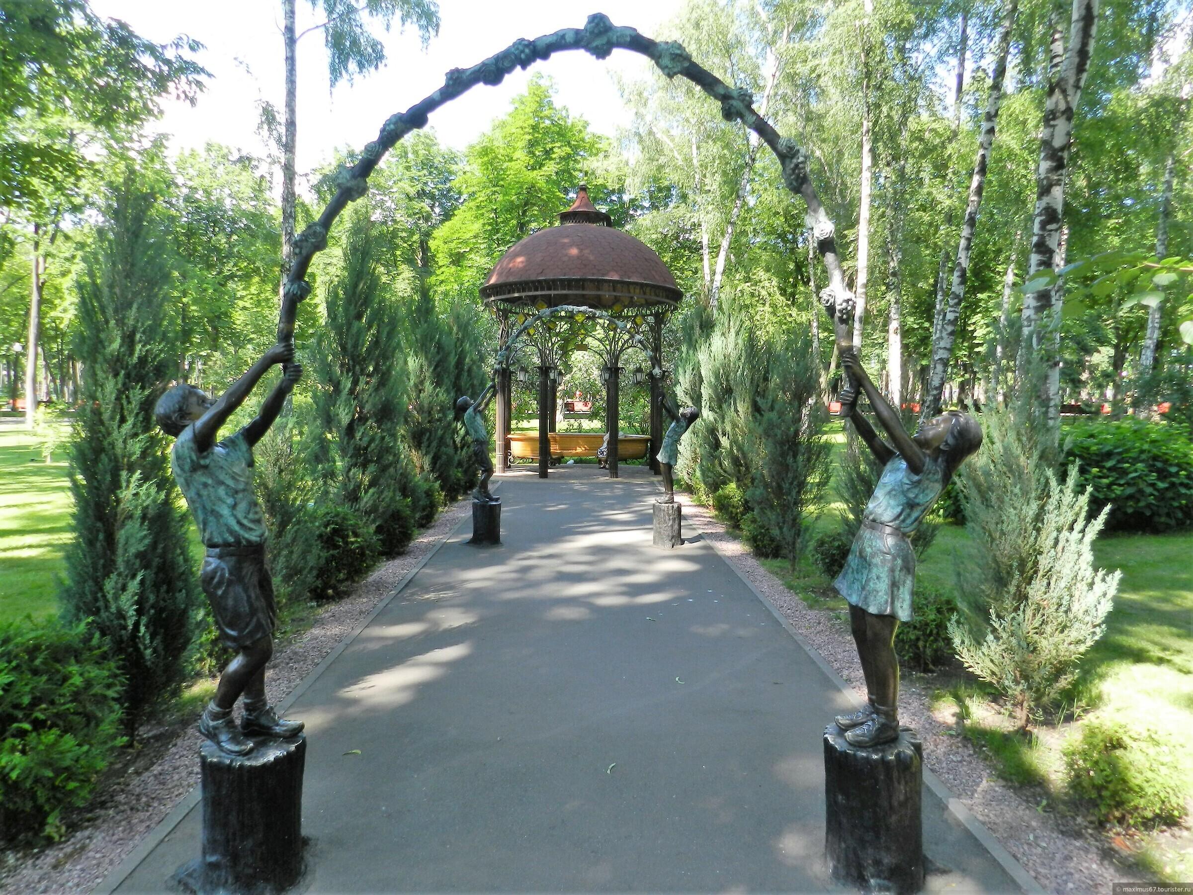 Картинки в харькове парк горького