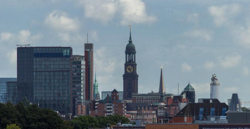 Церковь Святого Михаила в Гамбурге (Hauptkirche Sankt Michaelis)