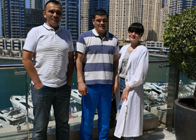 С Гостями из Салехарда Рушан и Сабина