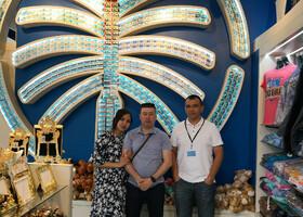С Гостями из Казахстана Асхат Асель
