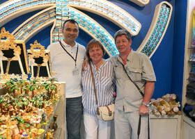 С Гостями из Питера Владимир и Татьяна