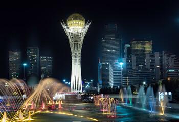 Столицу Казахстана Астану переименовали в Нур-Султан