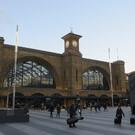Ж/д вокзал Кингс-Кросс в Лондоне