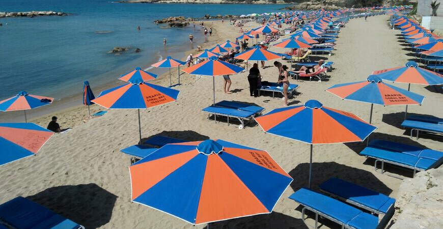 Пляж Лауру в Пафосе