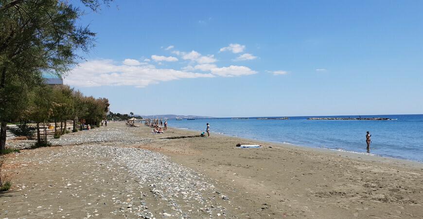 Пляж Акти Олимпион (Akti Olympion beach)