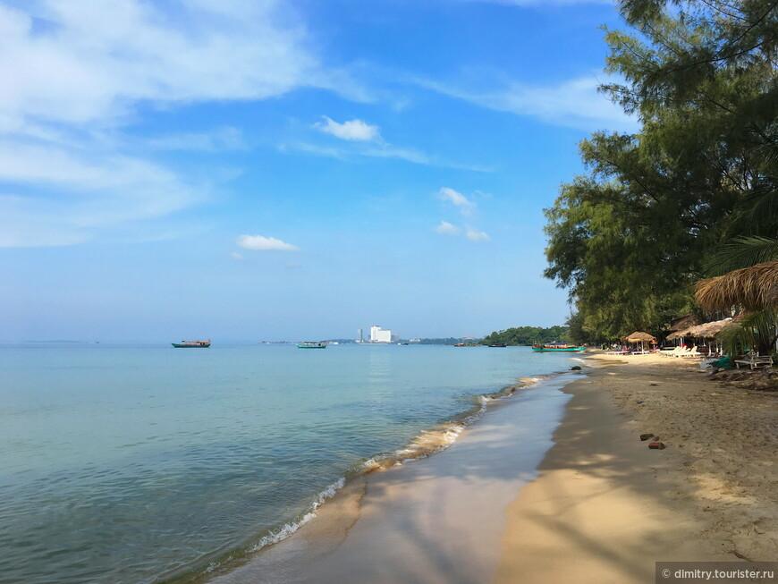 Пляж, ради которого можно терпеть неудобства.