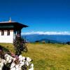 Гималаи- вид с перевала Дочу Ла