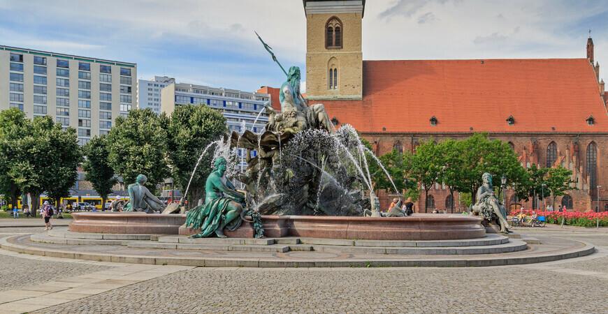 Фонтан «Нептун» в Берлине (Neptunbrunnen)