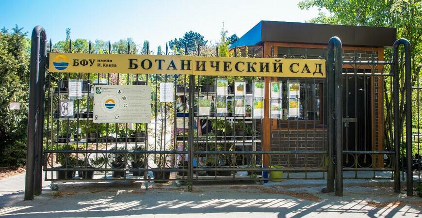 Ботанический сад Калининграда имени Канта