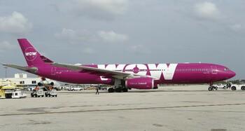 Исландский лоукостер WOW air прекратил полёты