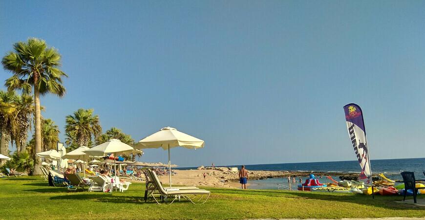 Пляж Пахиаммос (Pachyammos Beach)