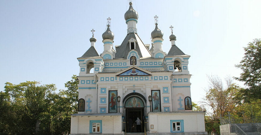 Храм Александра Невского в Ташкенте