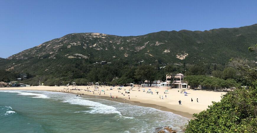 Пляж Шек О в Гонконге