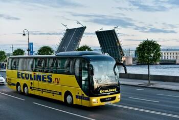 Ecolines запускает ежедневные автобусы из Петербурга в Финляндию