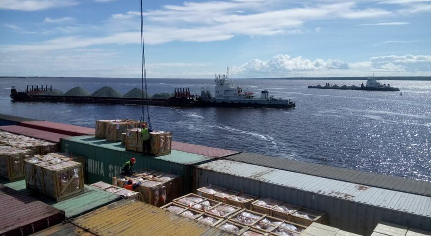 Вакансии речной порт салехард картинка погрузчик
