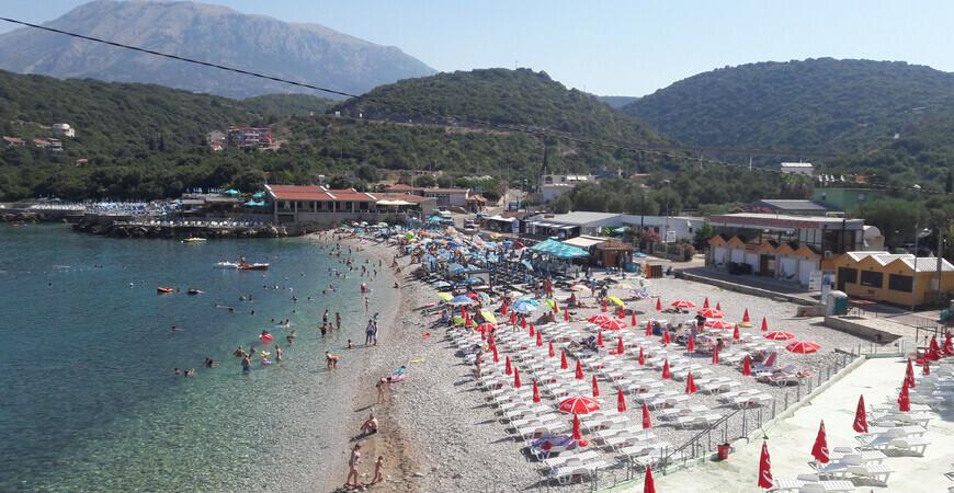 Пляж Утеха в Черногории