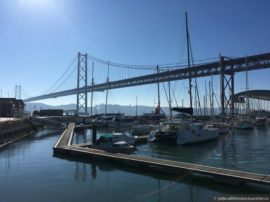 Мост через реку Тежу