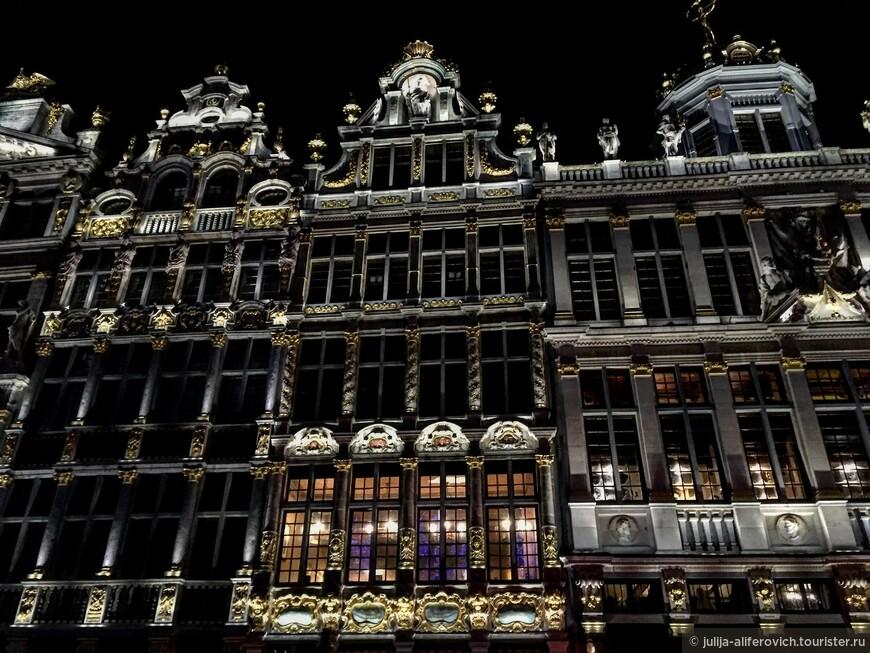 Ночные огни Брюсселя